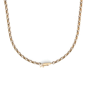 "25"" 14K Gold Cable Chain"