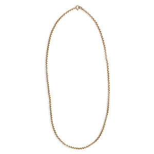 "28"" 14K Gold Cable Chain"