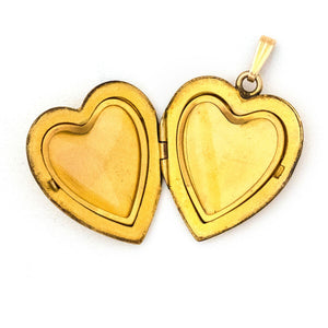 Vintner Lover's Heart Locket
