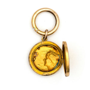 Lady of the Nightingales Locket