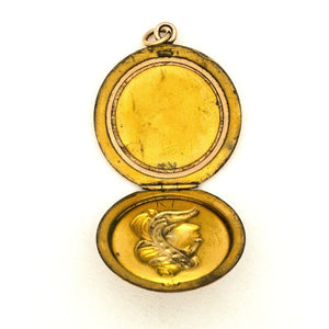 Cameo Lady Locket
