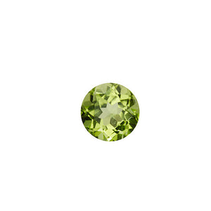 august - peridot birthstone - pair of 2