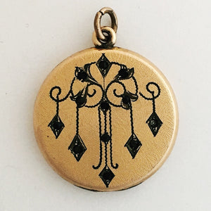 Deco Chandelier Antique Locket