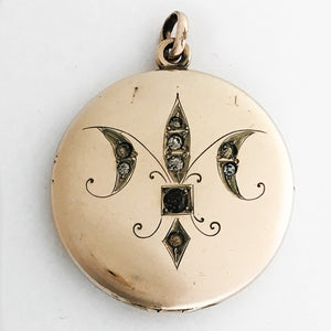 French Quarter Fleur-de-lis Locket