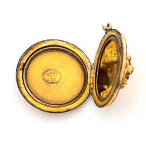 Lion & Lioness Locket