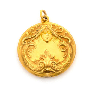 Serpentine Lady Locket
