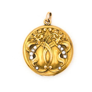 Entwined Love Locket