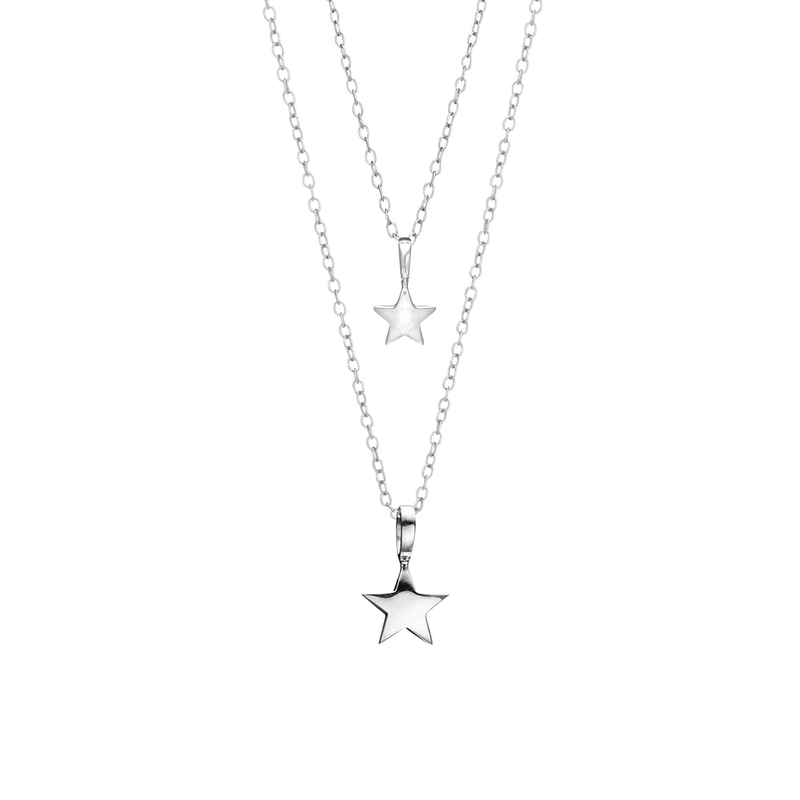 Mother & Daughter You Are a Star Necklaces