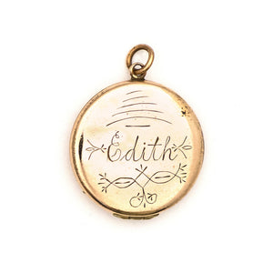 Edith's North Star Locket