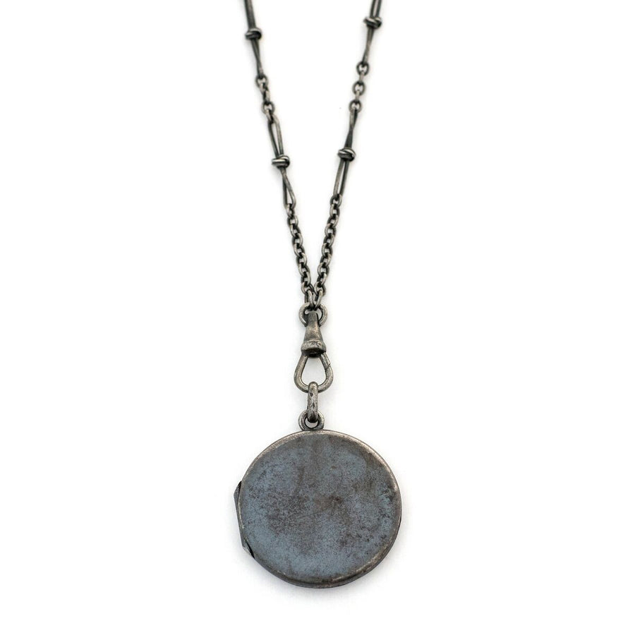 Gunmetal Locket