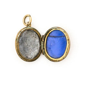 Petite Facets of Light Oval Locket