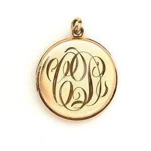 Lady of the Water Lilies Locket