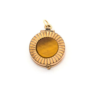 Cat's Eye Sunrise Locket