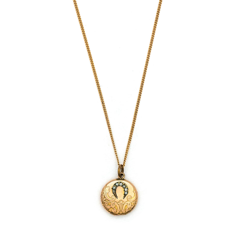 Petite Horseshoe Locket
