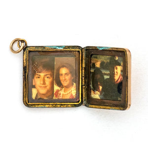 Square Equestrian Locket