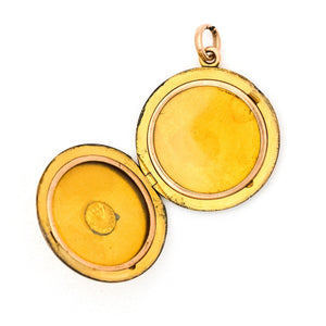 Double Wreath Coin Locket