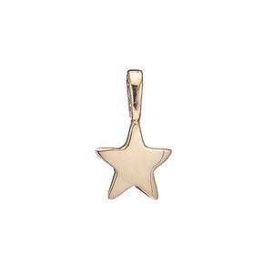 Matte Gold Vermeil Shooting Star Charm