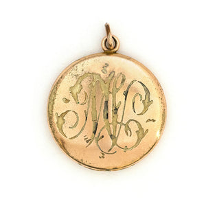 Poinsettia Locket