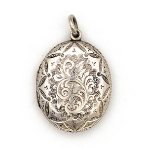 Silver Arrangement Locket