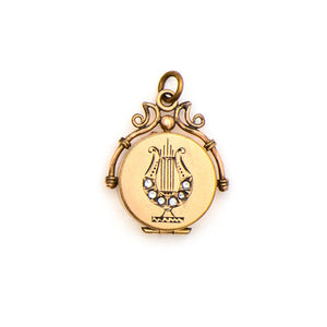 Lyre Locket