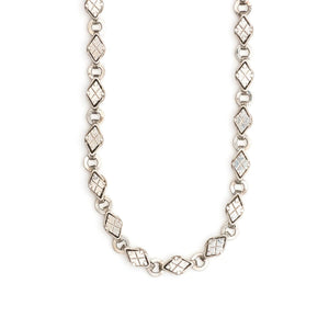 Sterling Silver Art Deco Chain