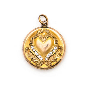 Regal Heart Locket