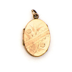 Floral Lace Locket