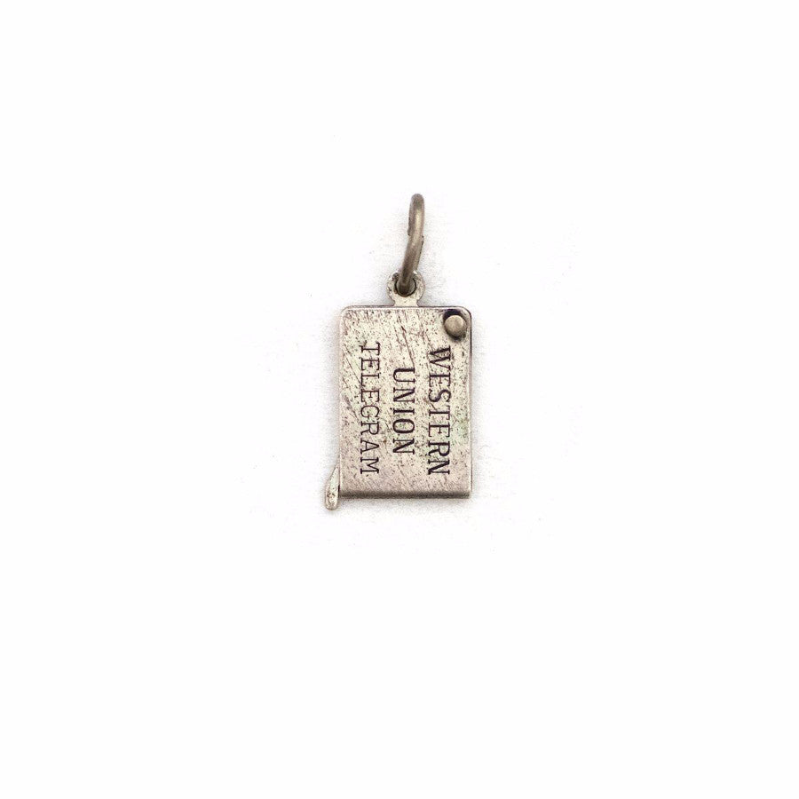 Be My Valentine Telegram Pendant