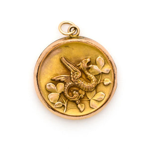 Lucky Dragon Locket