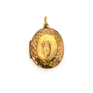Facets of Light Oval Locket