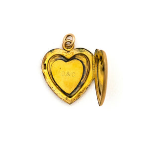 Victorian Heart Locket