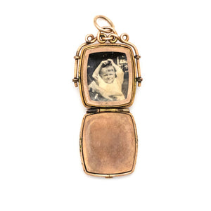 Opal Splendor Locket