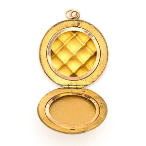 Quilted Locket
