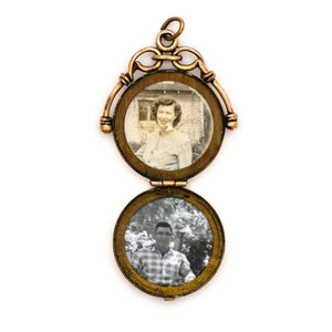 Single Star Pocket Watch Locket