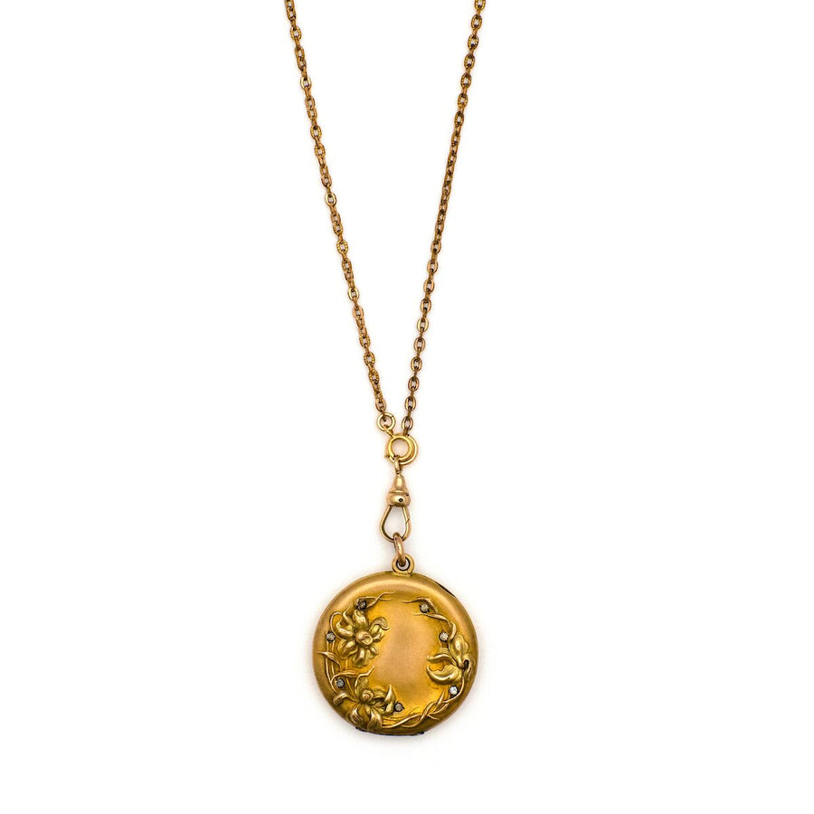 Golden Daffodils Locket