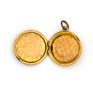 "Art Deco ""N"" Locket"