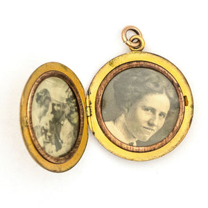 Violet Country Girl Locket