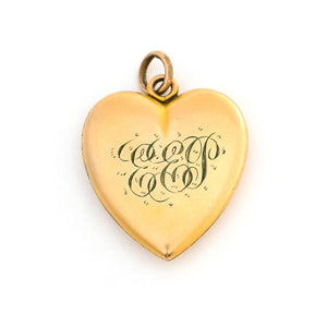 Diamond Wreath Heart Locket