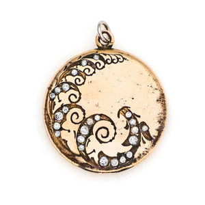 Rolling Waves Locket