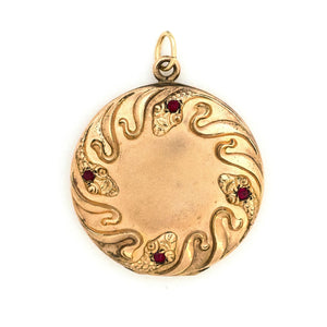 Circle of Snakes Locket