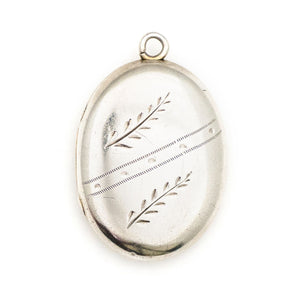 Sterling Silver Wheat Locket
