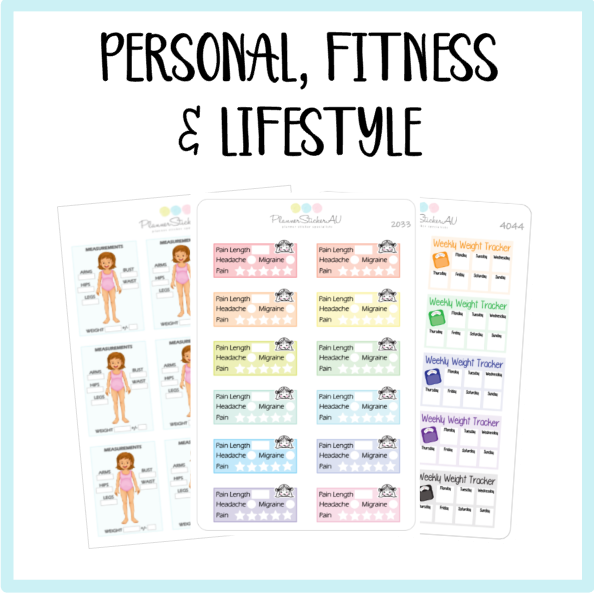 Personal, Fitness, Lifestyle & Medical