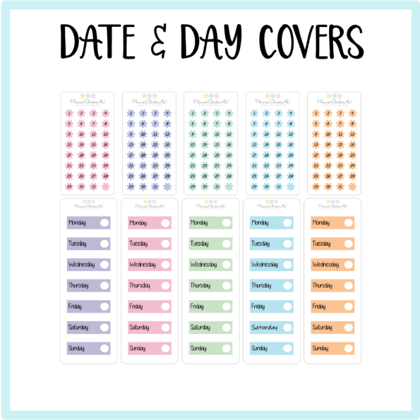 Date Dots & Covers