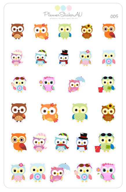 Seasonal Owls | 005
