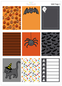 Halloween | EC Weekly Spread | 1065