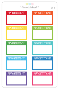 Appointment | Half Box | 254