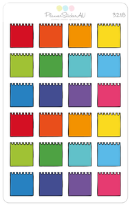 Note Paper - Small | Bright | 3218