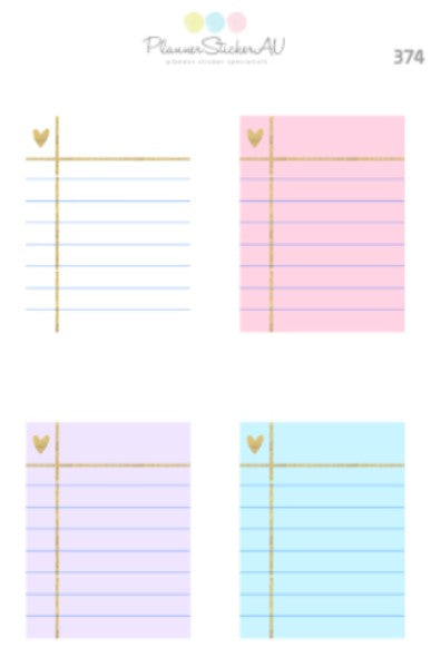 Ruled Note Pad | 374