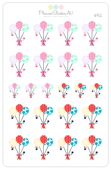 Balloons Bunch | 632