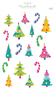 Funky Christmas Trees | 653